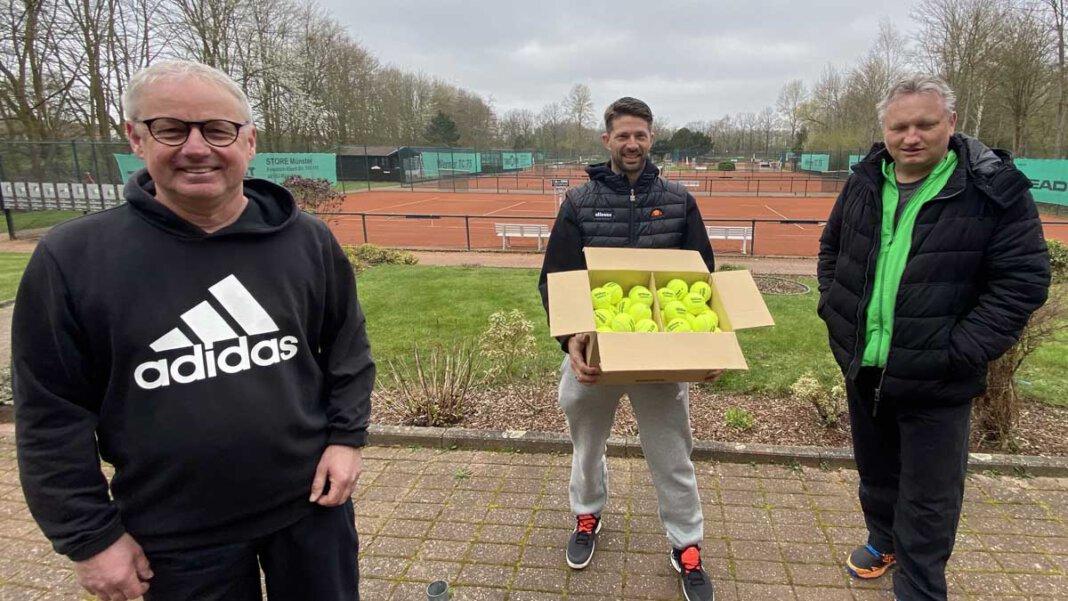 Der Werner Tennisclub sieht sich für die Zukunft gut gerüstet. Foto: WTC