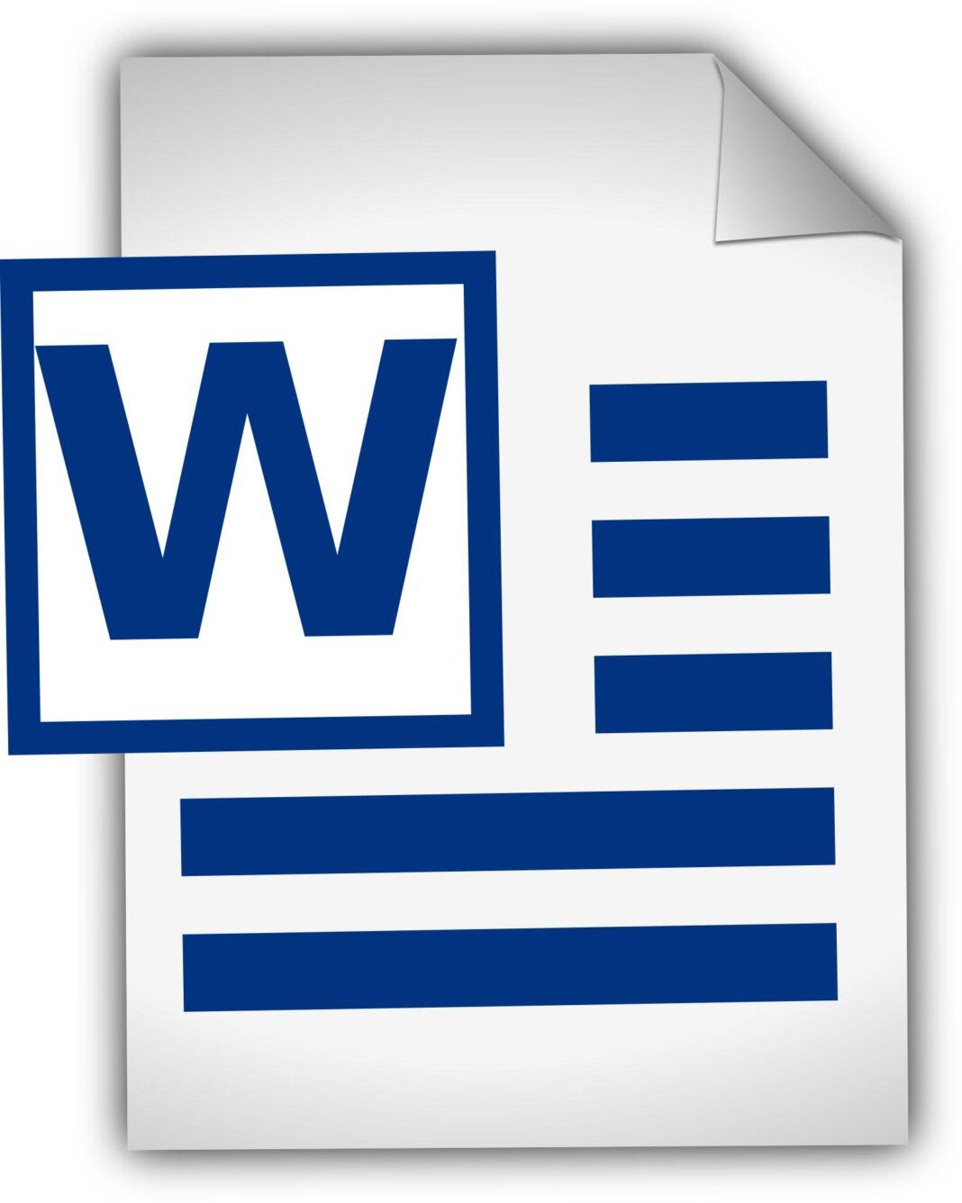 Einen Onlinekurs zum Programm für Textverarbeitung, Word, bietet die VHS Werne an. Foto: pixabay