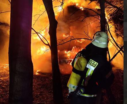 Im Jahr 2020 wurden kreisweit rund 2.200 ehrenamtliche und 220 hauptberufliche Feuerwehrleute zu 4.737 Einsätzen gerufen. Foto: Feuerwehr Werne
