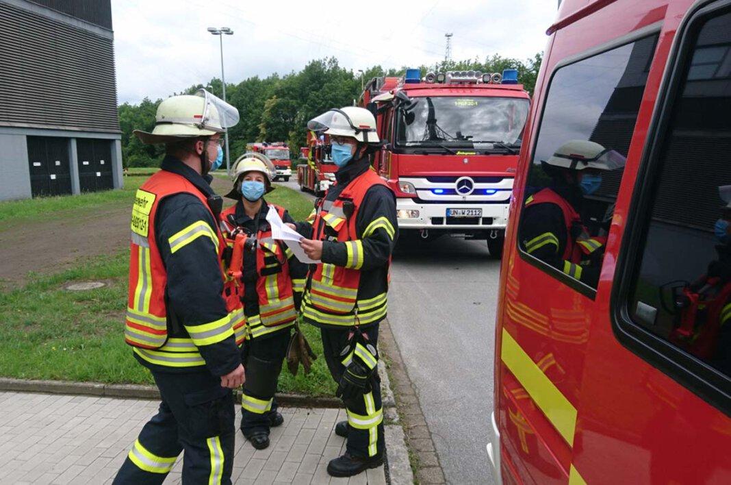 Alle Einsatzkräfte der Freiwilligen Feuerwehr Werne haben inzwischen ein Impfangebot erhalten - nach einiger Verzögerung. Foto: Archiv