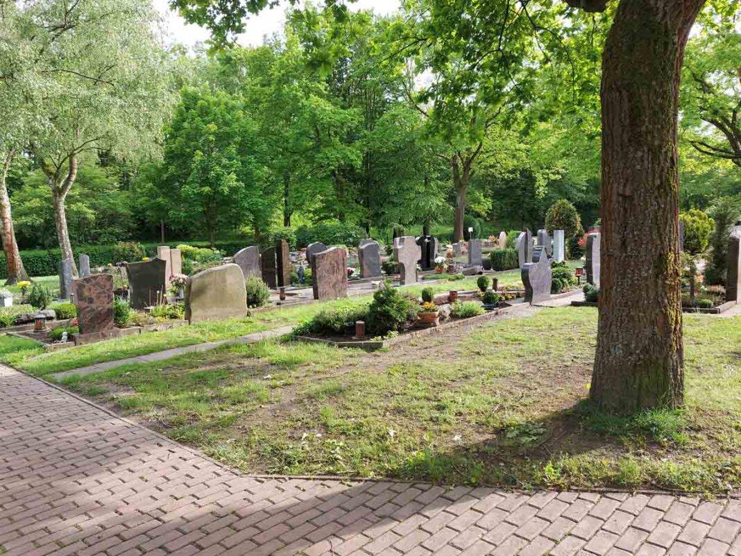 Der Friedhof in Stockum. Foto: Wagner
