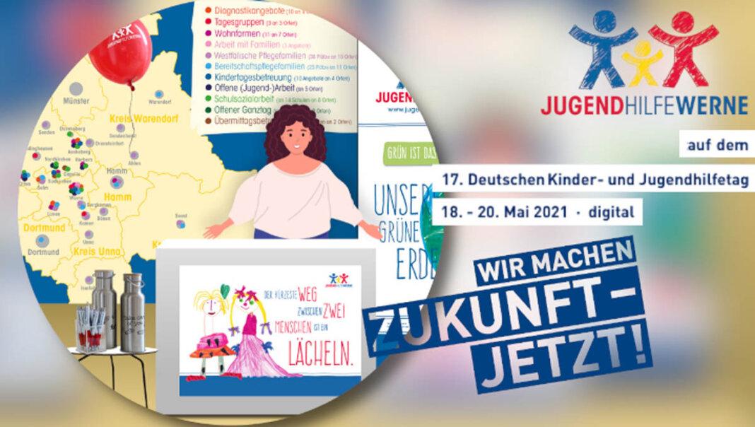 Die Jugendhilfe Werne ist beim rein digitalen Deutschen Kinder- und Jugendhilfetag vertreten. Foto: Jugendhilfe