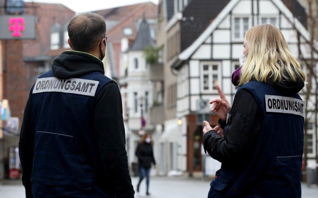 Die nächtliche Ausgangssperre in Werne ist seit drei Wochen gültig. Bisher liegen dem Ordnungsamt erst wenige Fälle von Vergehen zur Bearbeitung vor. Foto: Volkmer
