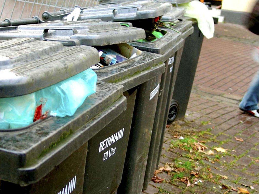 Der Kommunalbetrieb Werne informiert über die Abfuhr der Restmülltonnen in der kommenden Woche. Foto: KBW