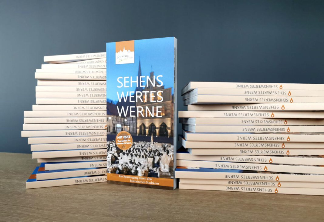 Ausgewählte Bauwerke, Straßen und Plätze werden auf rund 150 Seiten in Text und Bild präsentiert. Foto: N. Friedrich/Werne Marketing