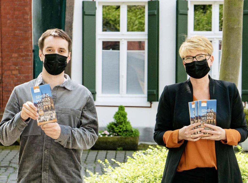 """""""Sehenswertes Werne"""" wurde von Christoph Schwartländer (Redaktion) und Nicole Friedrich (Art-Direktion) konzipiert und erarbeitet."""