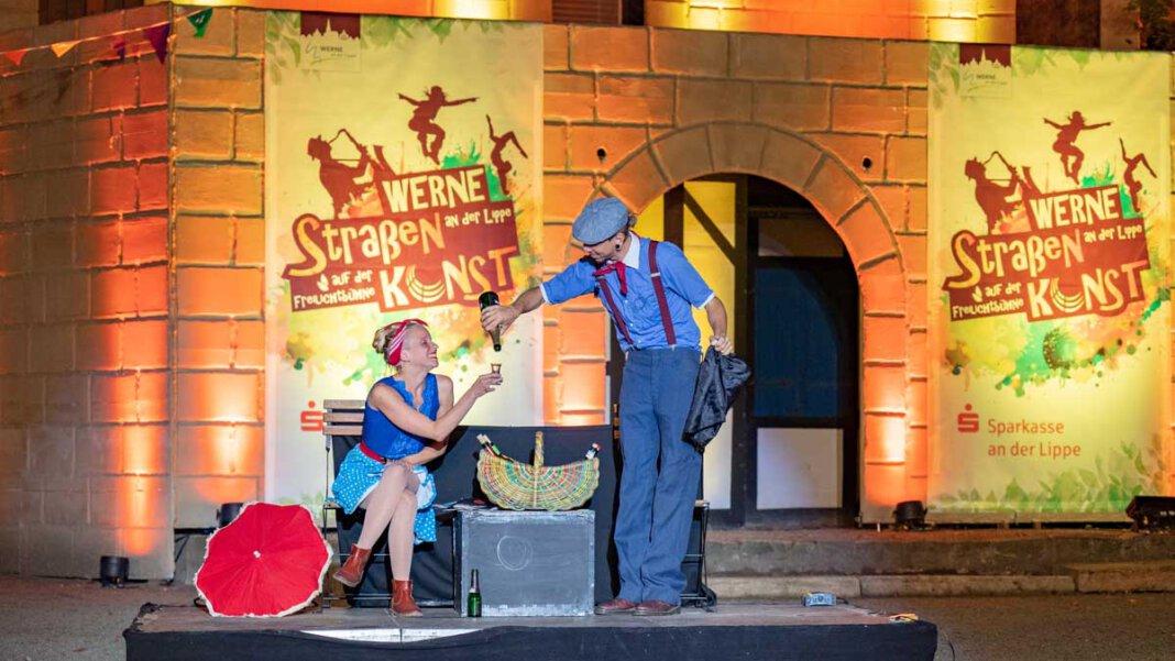 Die Freilichtbühne wird sehr wahrscheinlich wieder Schauplatz des Straßen-Festivals. Foto: Werne