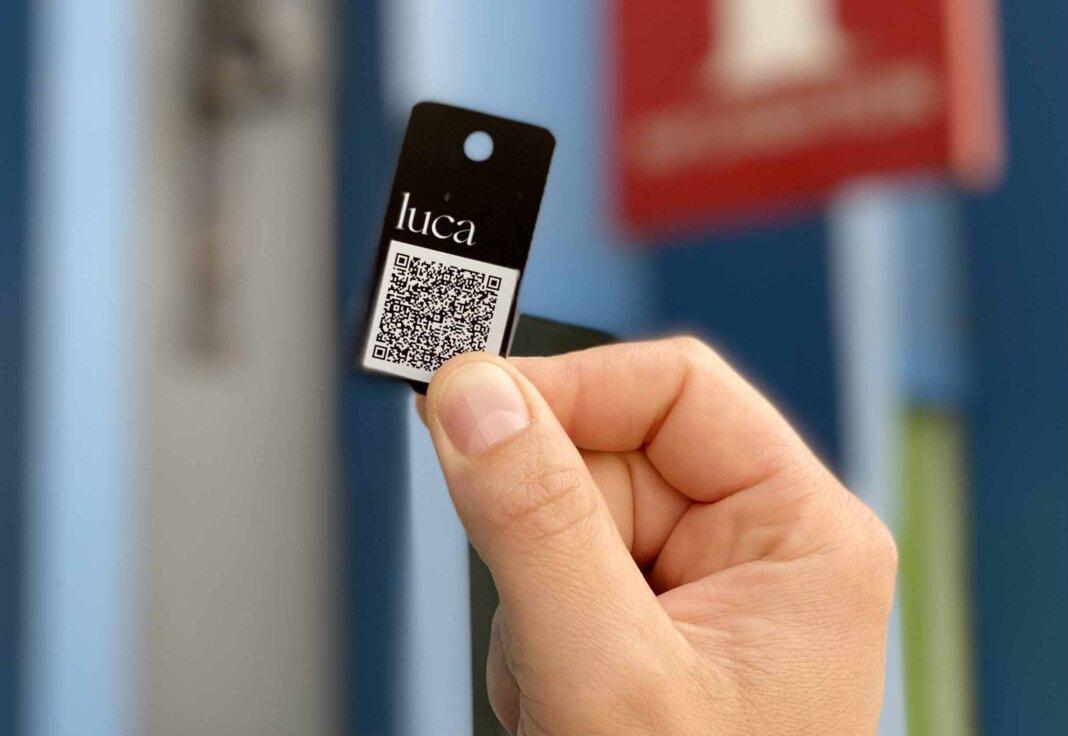 Der luca-Schlüsselanhänger ist seit Freitag (28. Mai) in Werne erhältlich. Foto: Werne Marketing