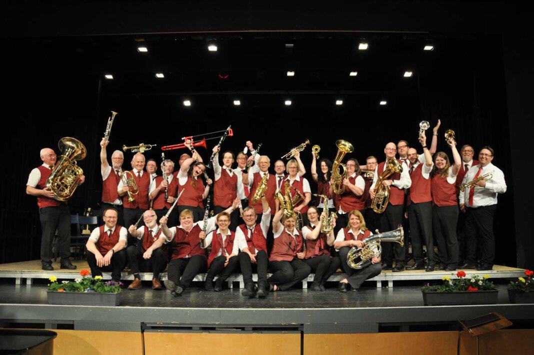 Das Bläsercorps Werne freut sich auf den ersten Live-Konzertauftritt seit der Pandemie. Foto: Privat
