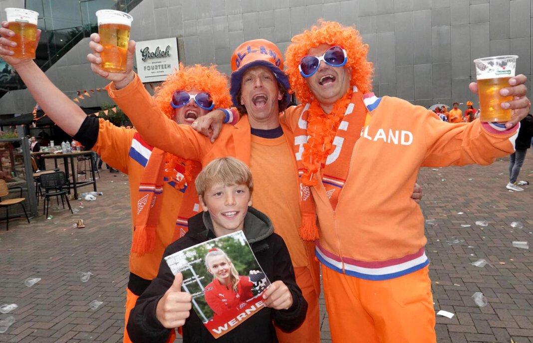 Die Niederländer drücken ihrer Elftal bei der EM die Daumen - und lesen WERNEplus. Foto: Christoph Volkmer