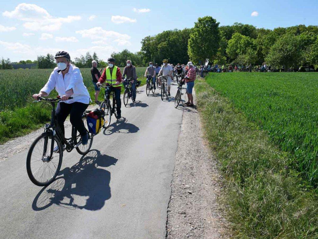 Zur zweiten Protest-Radtour lädt BIN am kommenden Sonntag ein. Foto: Gaby Brüggemann