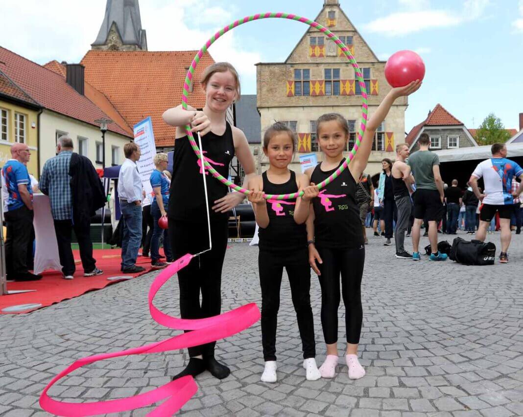 Mit einer öffentlichkeitswirksamen Sport- und Vereinsmeile 2020 soll auch wieder Werbung für das attraktive Sportangebot der Stadt Werne gemacht werden. Archivfoto: Volkmer