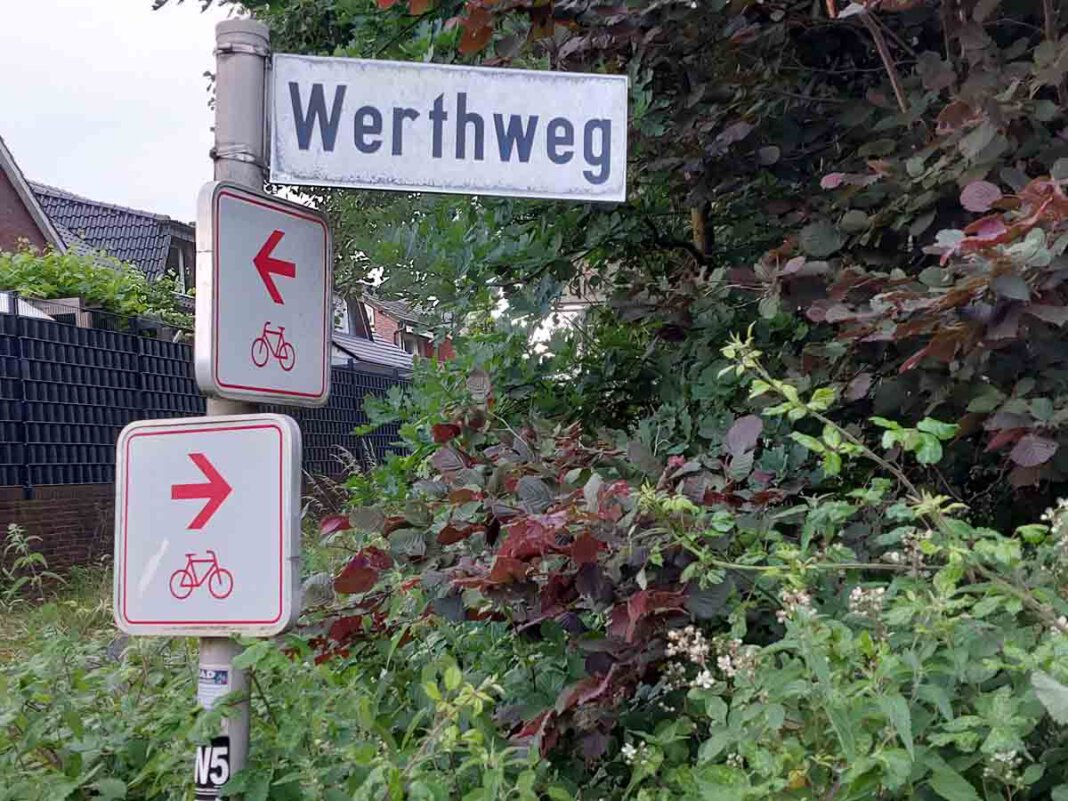 Die alte Bahntrasse zwischen Werne und Stockum soll aufgewertet werden. Foto: Wagner