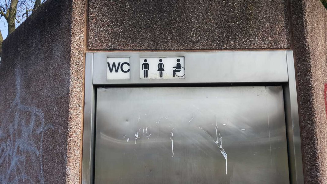 Der Standort für eine neue barrierefreie Toilette in der Innenstadt ist gefunden worden. Das WC wird am Busbahnhof errichtet. Foto: Wagner