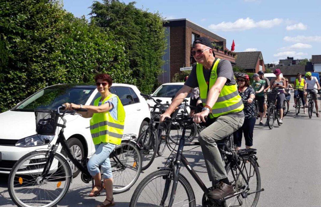 Die BIN lädt am Sonntag zu einer Spendenaktion für die Flutopfer und Mitte August zur nächsten Protest-Radtour ein. Foto: BIN
