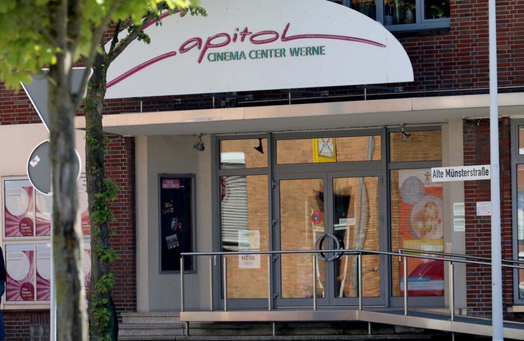 Aufgrund von Reparaturarbeiten hat sich der Neustart des Capitol-Kinos in Werne verzögert. Jetzt aber steht fest, ab wann hier wieder Filme gezeigt werden. Foto: Volkmer