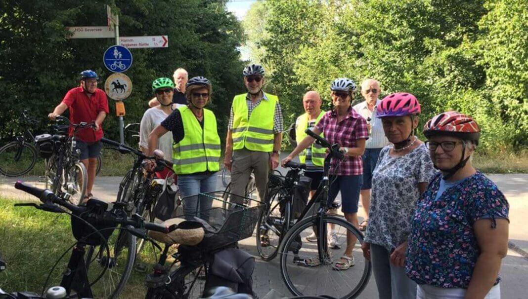 Am kommenden Montag (5. Juli) lädt die Kolpingsfamilie wieder zu einer Radtour ein. Foto: Benno Jäger