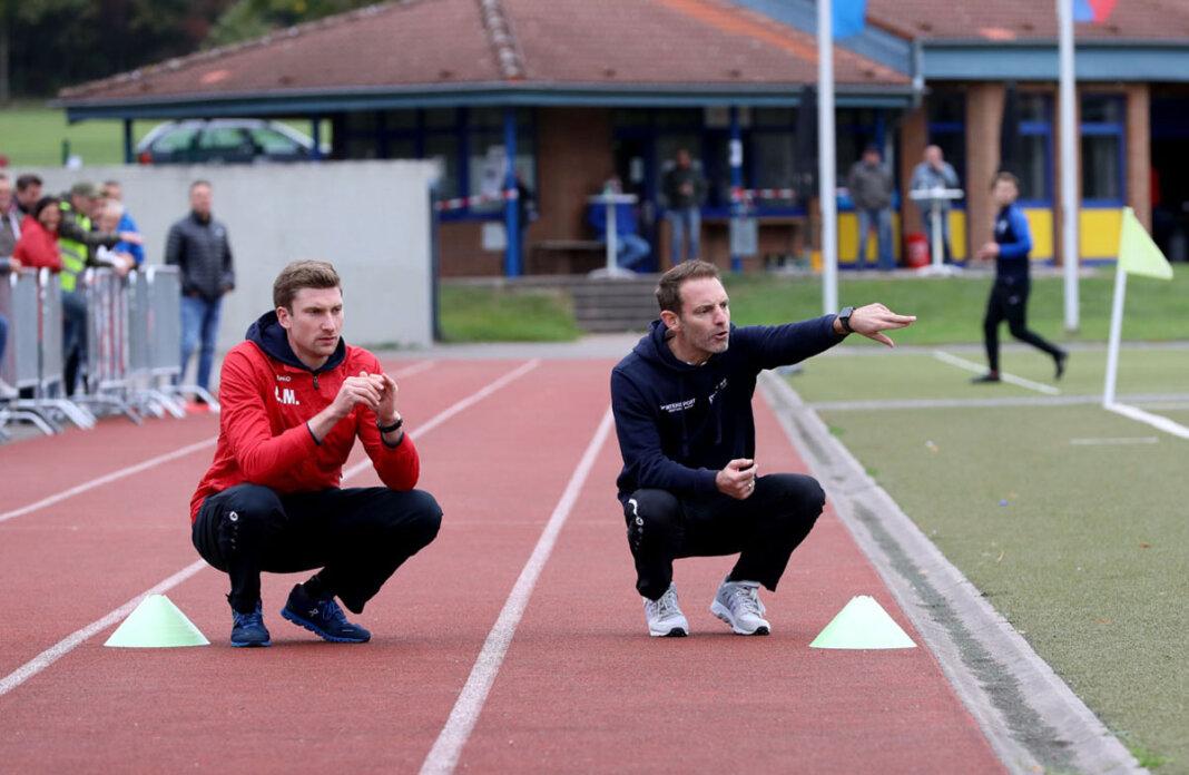 Trainer Lars Müller (rechts) und der WSC werden bei der überkreislichen Staffeleinteilung wohl keine Überraschungen erleben. Archivfoto: Volkmer