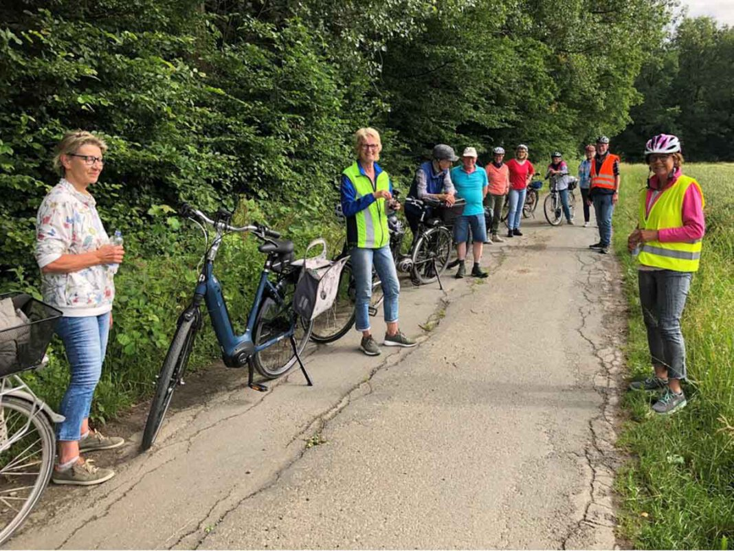 Während der Heimatverein Werne in der kommenden Woche wieder in die Pedale tritt, hat bei der Kolpingsfamilie die erste Radtour nach Ende des Lockdowns stattgefunden. Foto: Benno Jäger