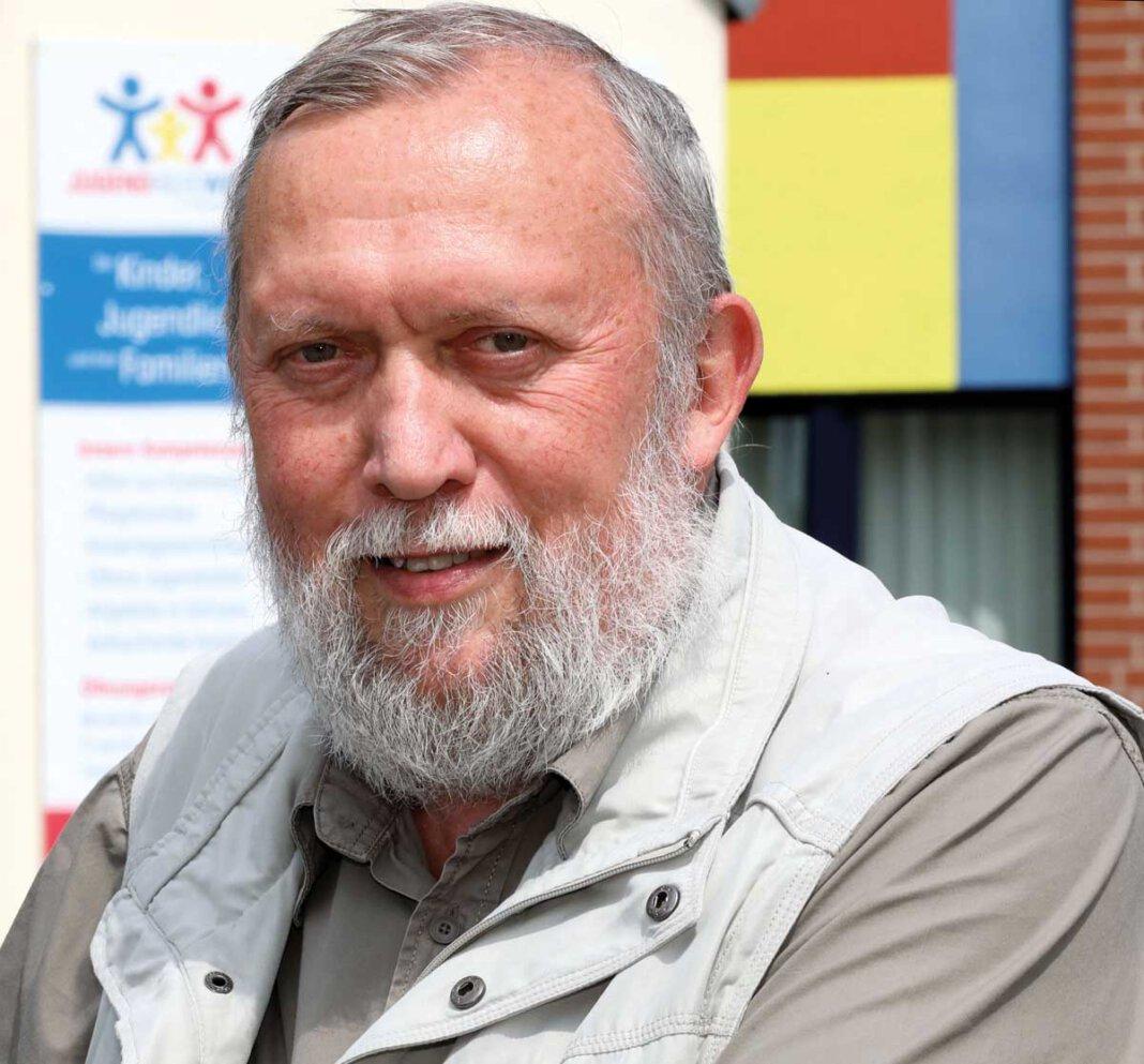 Der langjährige Geschäftsführer der Jugendhilfe, Uwe Schenk, ist in den Ruhestand gewechselt. Foto: Volkmer