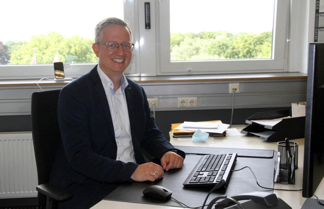 Wirtschaftsförderer Matthias Stiller berichtete im Fachausschuss über großes Interesses für das geplante neue Industriegebiet Nordlippestraße. Foto: Wagner