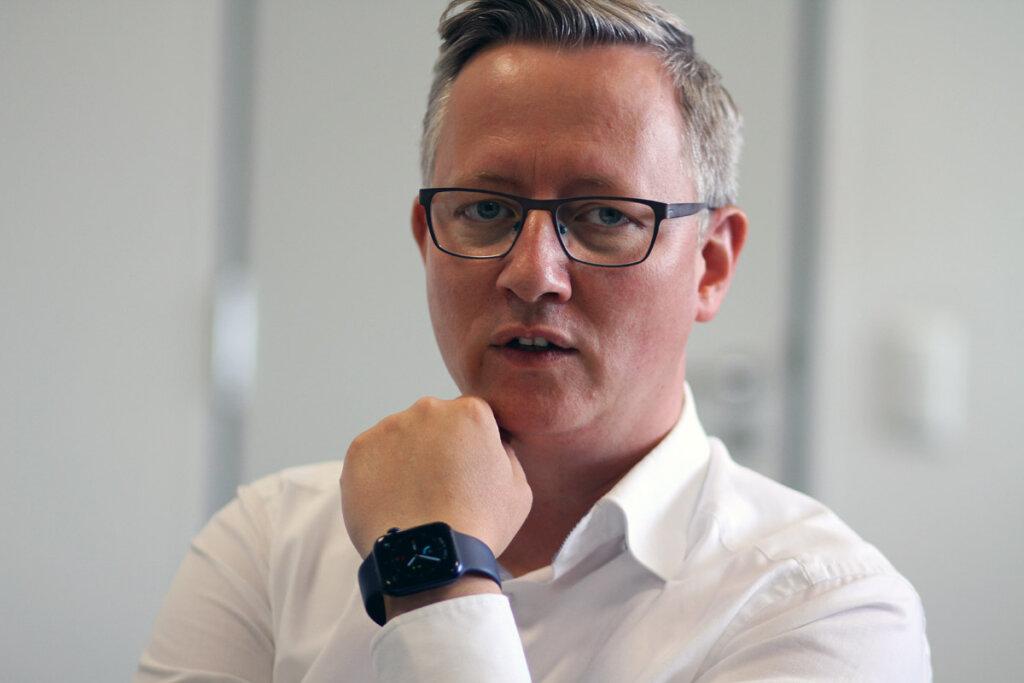 Matthias Stiller, neuer Leiter der Wirtschaftsförderung der Stadt Werne. Foto: Wagner