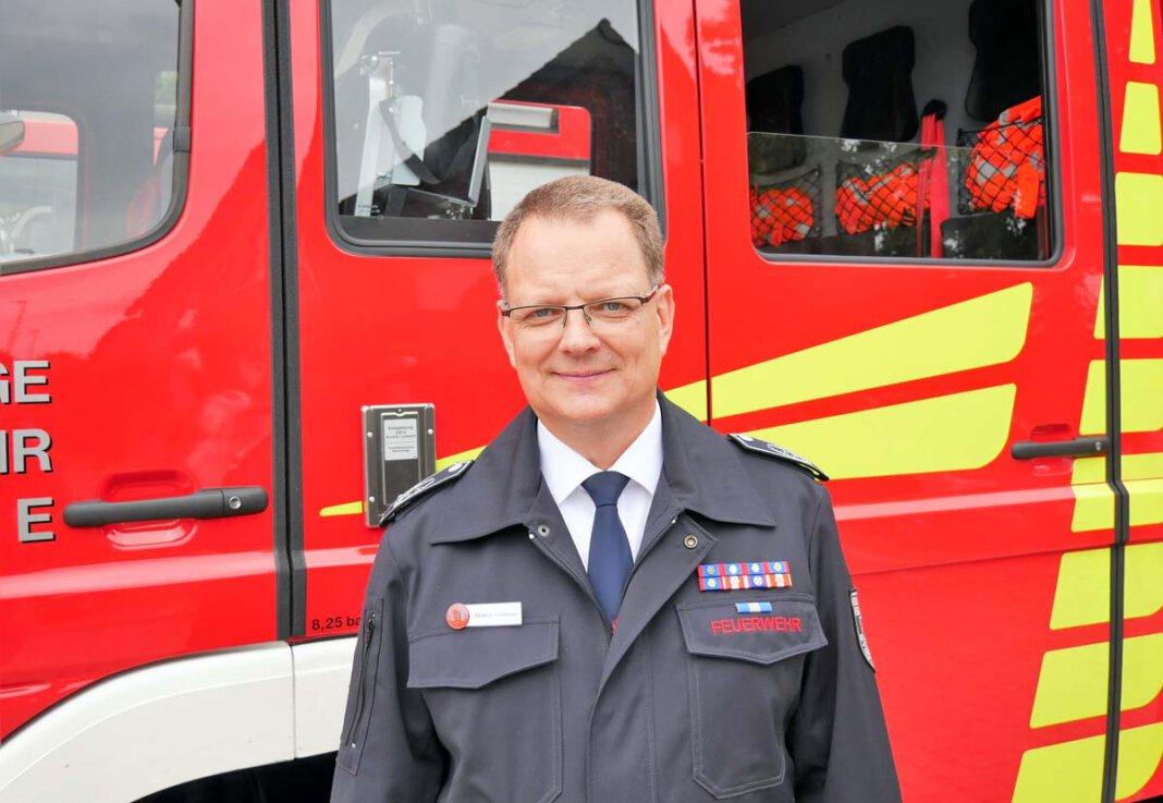 Thomas Temmann, Chef der Freiwilligen Feuerwehr Werne. Foto: Gaby Brüggemann