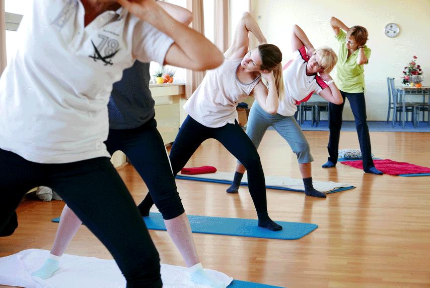 Die VHS Werne veranstaltet im Rahmen ihres Sommerprogramms eine einmalige Pilates-Aktion. Foto: Friedrich/Werne Marketing