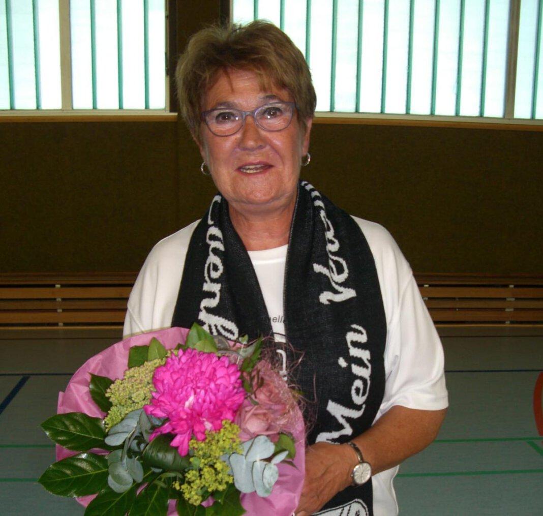 Annette Backhove von Eintracht Werne feierte Jubiläum. Foto: Privat
