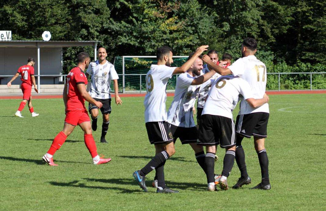 Eintracht Werne durfte wieder jubeln und zog ins Kreispokal-Achtelfinale ein. Foto: Wagner