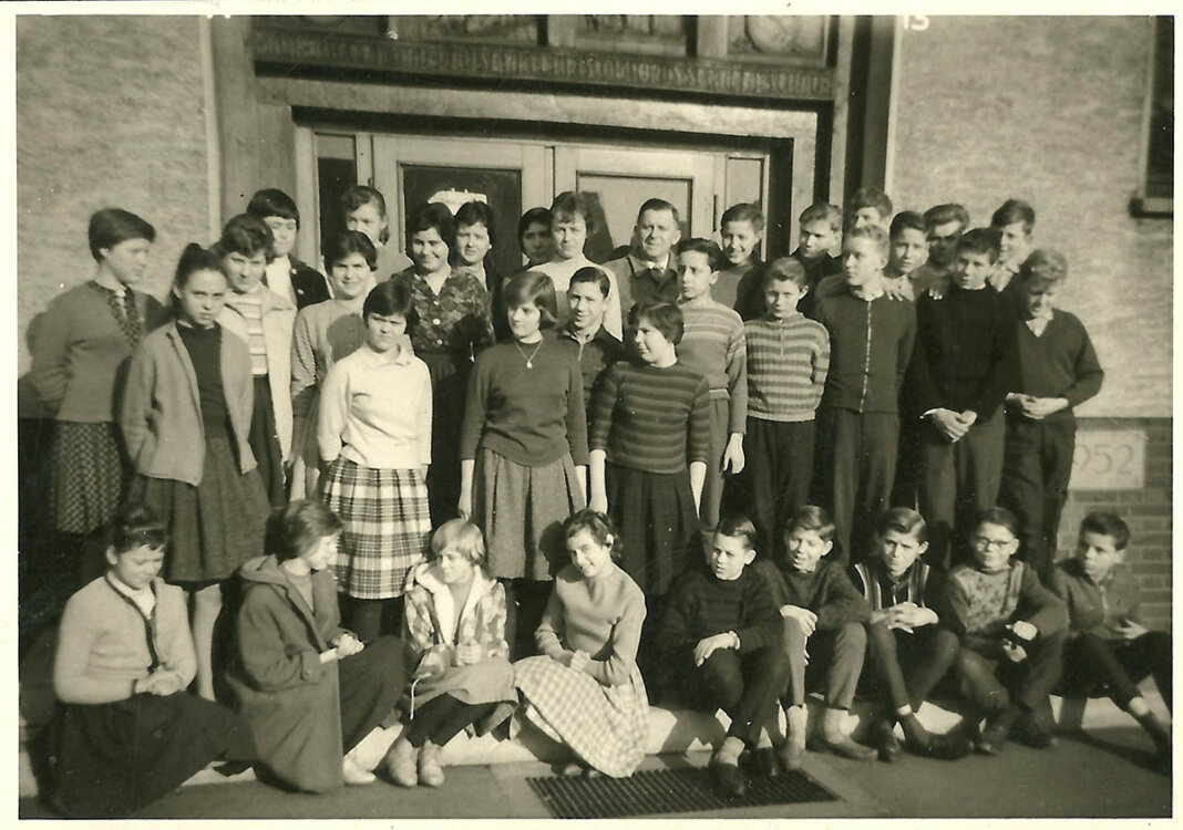 60 Jahre nach dem Abschied aus der Wiehagenschule treffen sich die Ehemaligen am kommenden Samstag zum Wiedersehen. Foto: Privat