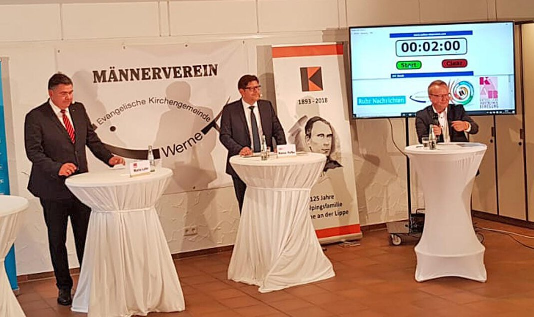 Der Kandidatencheck von KAB, Kolping und Männerverein zur Bundestagswahl findet am 19. August wieder als Live-Sendung statt. Foto: Weber