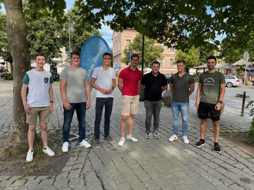 Der Vorstand der Jungen Liberalen im Kreis Unna. Foto: FDP
