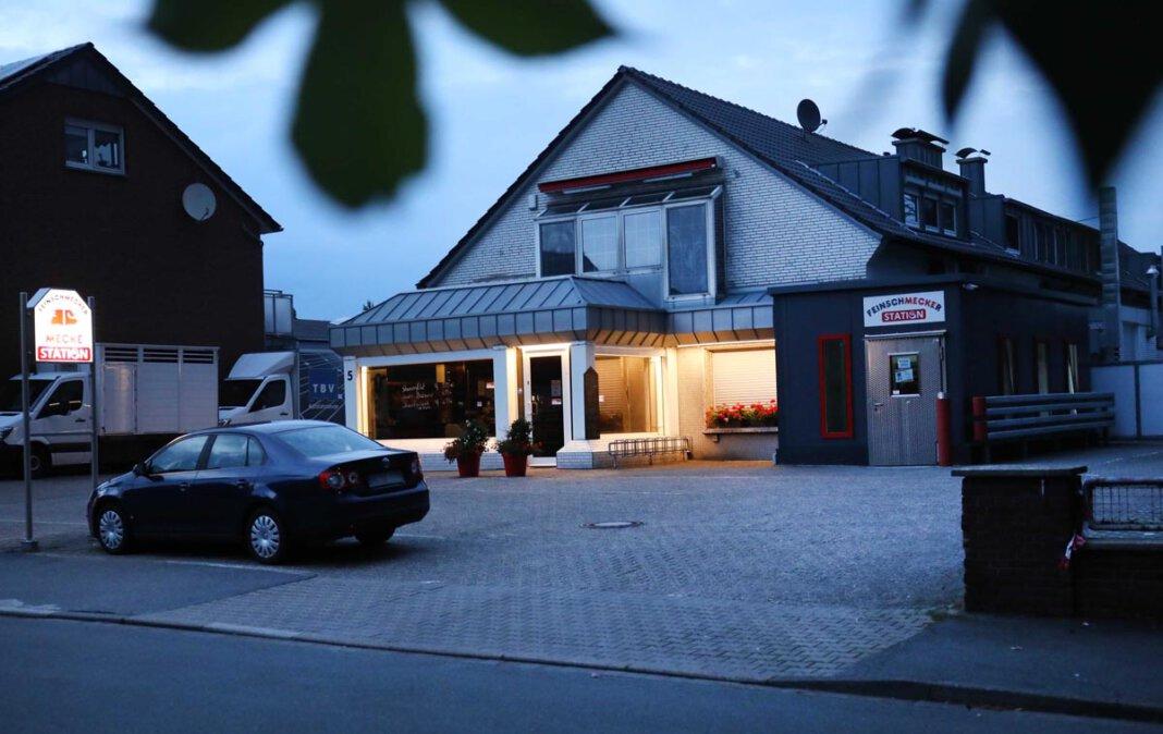 Ab Montag öffnet die Fleischerei Mecke nicht mehr ihr Ladenlokal an der Lippestraße 5 in Werne. Foto: Volkmer
