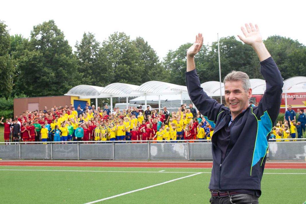 Der SV Herbern feierte am Samstag (21. August) erstmals wieder ein großes Fest. Foto: Isabel Schütte