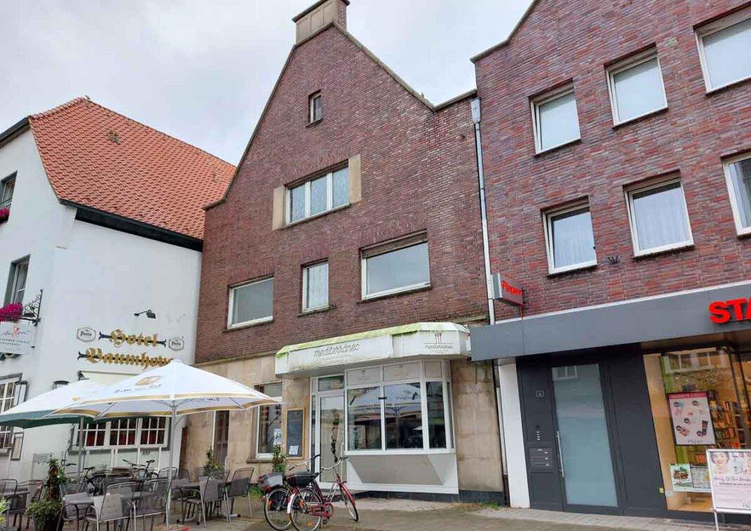 Das Gebäude an der Steinstraße 1 in Werne hat abermals den Besitzer gewechselt. Abriss und Neubau sind aber besiegelt. Foto: Wagner