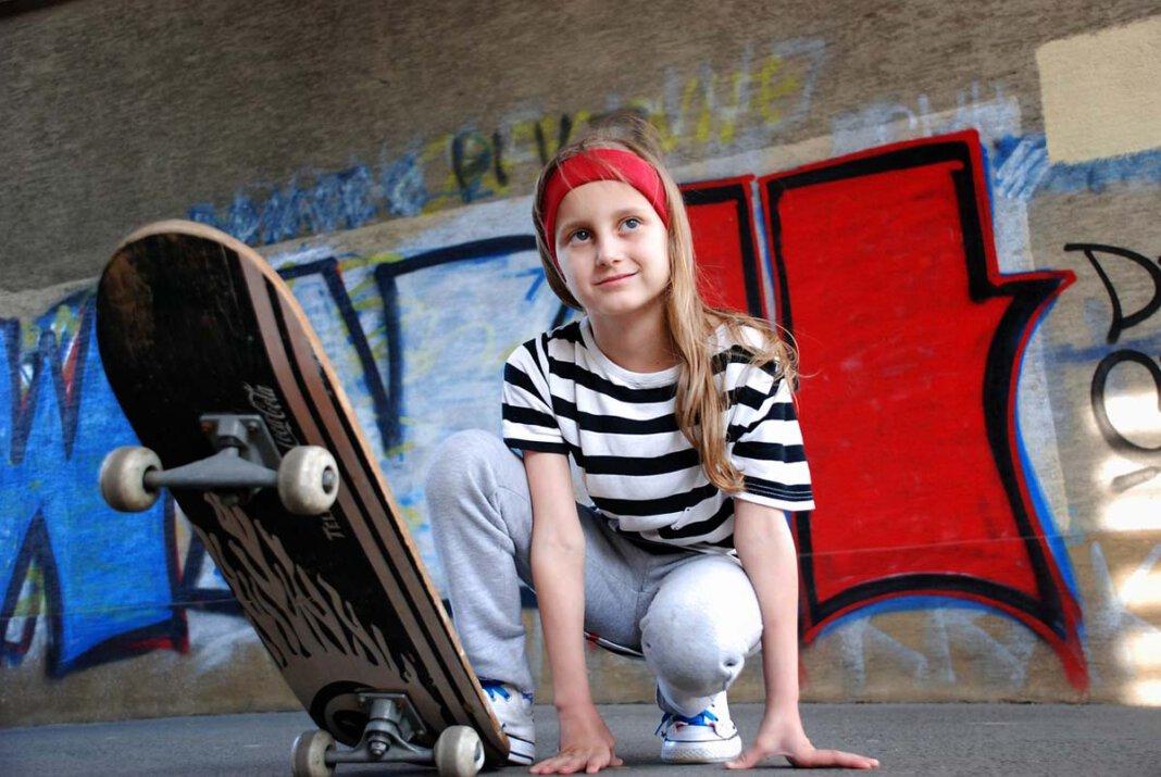 Ein Skateboard-Workshop nur für Mädchen wird in Selm angeboten. Symbolfoto: pixabay