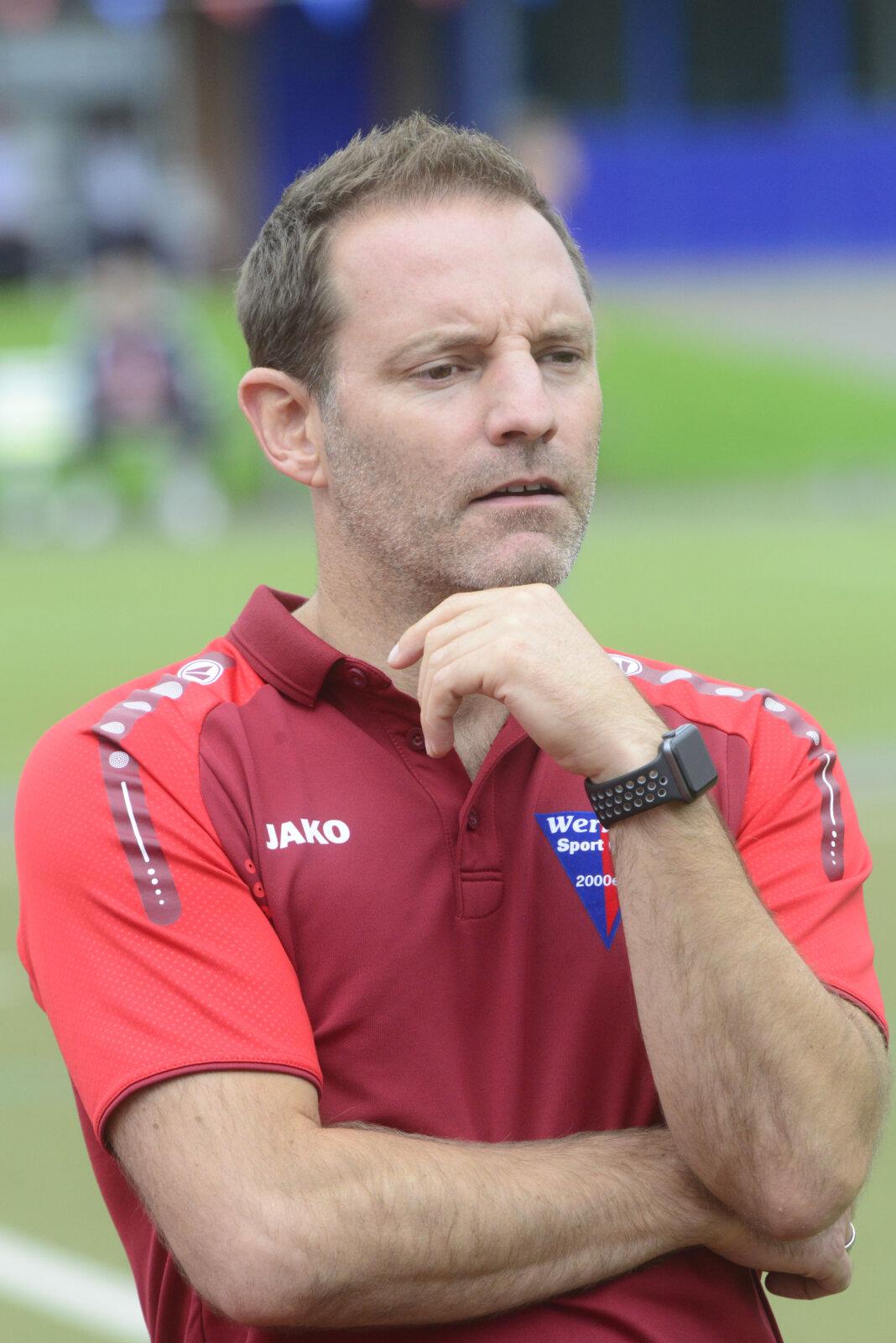 WSC-Trainer Lars Müller war zufrieden. Foto: Jörg Stengl