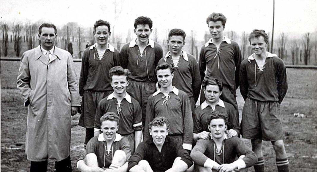 Das Bild zeigt den SSV Werne im Jahr 1956. Archivfoto: Willi Jasper