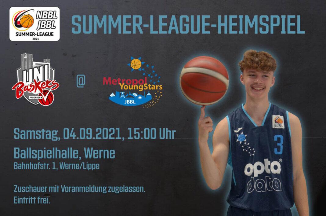 Spitzenbasketball gibt es am Samstag, 4. September, in der Ballspielhalle zu bestaunen. Foto: Metropol Baskets Ruhr