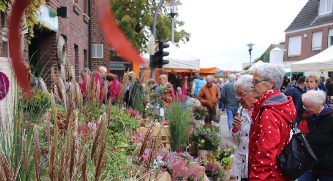 Zuletzt fand der Herbstmarkt in Nordkirchen im Jahr 2019 statt. Foto: Carla Ross