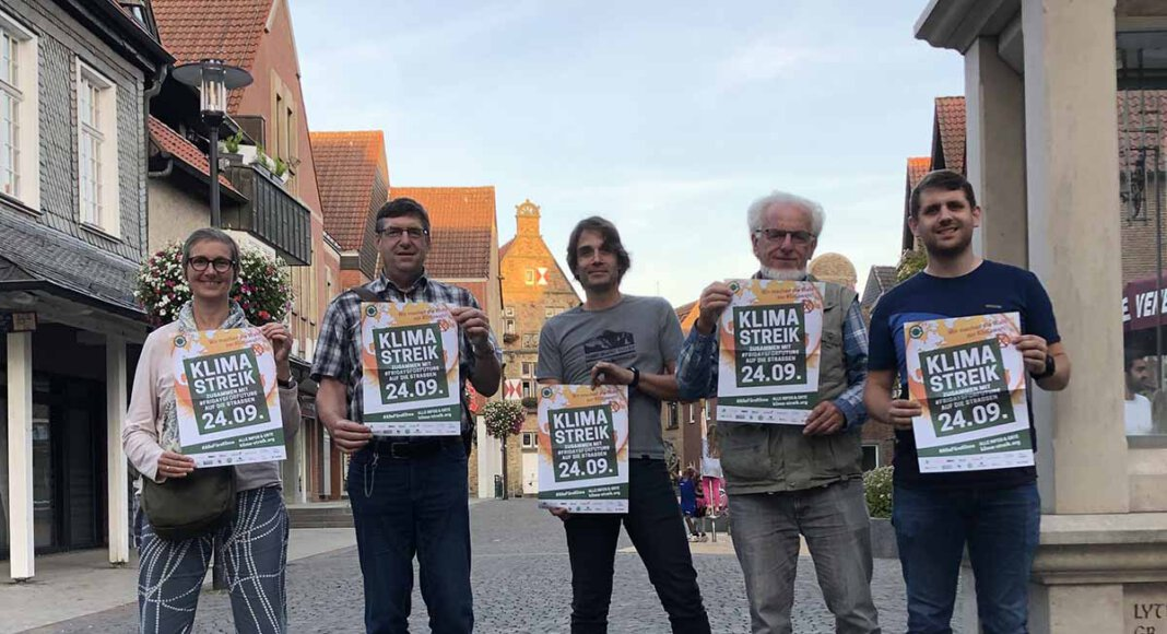"""Gemeinsam mit weiteren lokalen Gruppen wird Natürlich!Werne am 24. September dafür protestieren, dass es ein """"Weiter wie bisher"""" nicht geben darf und fordert eine nachhaltige Politik zur Eindämmung der Klimakrise. Foto: Privat"""