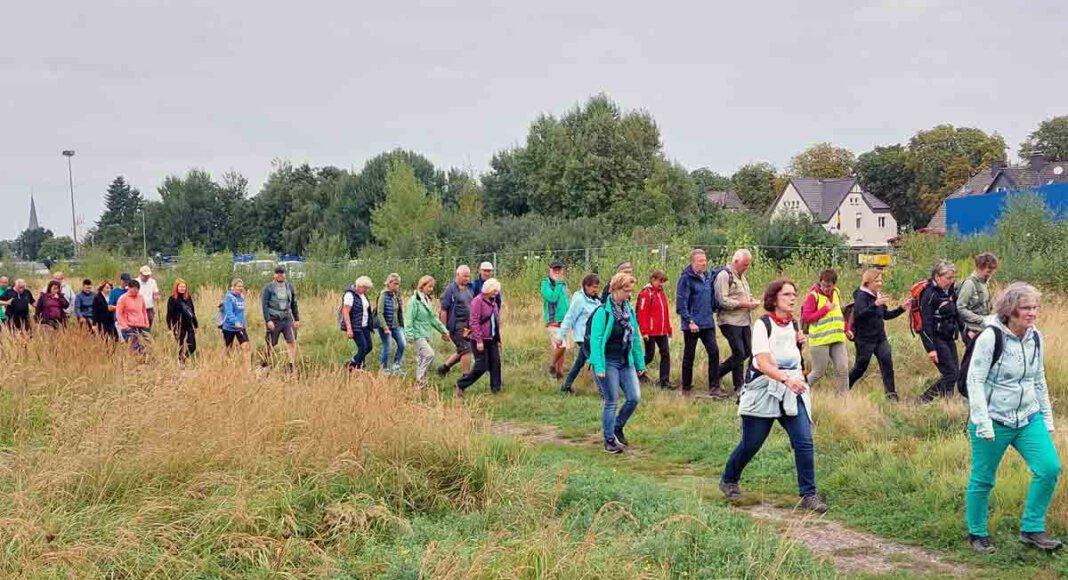 100 Teilnehmende folgten der Einladung des Stadtsportverbandes Werne zum 50. Volkswandertag. Foto: Wagner