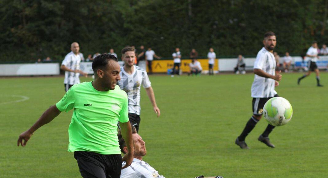 Der SV Stockum blieb im Derby gegen Eintracht Werne chancenlos. Foto: Wagner