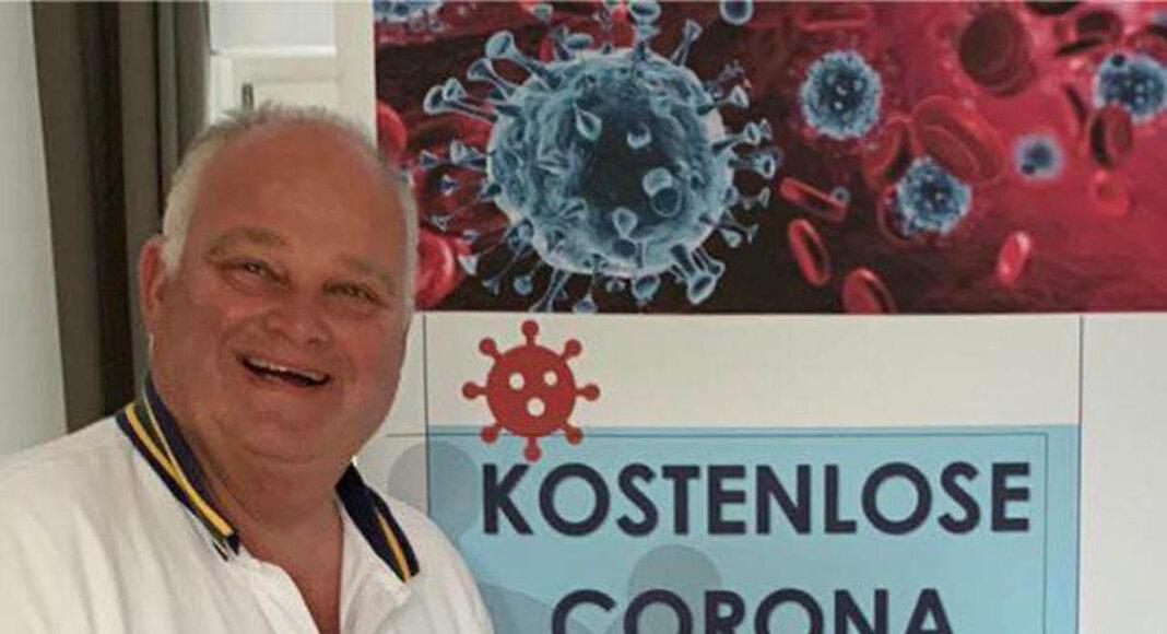Ingo Schnitger betreibt ab dem 1. Oktober auch eine Schnellteststelle in Werne. Foto: Schnitger
