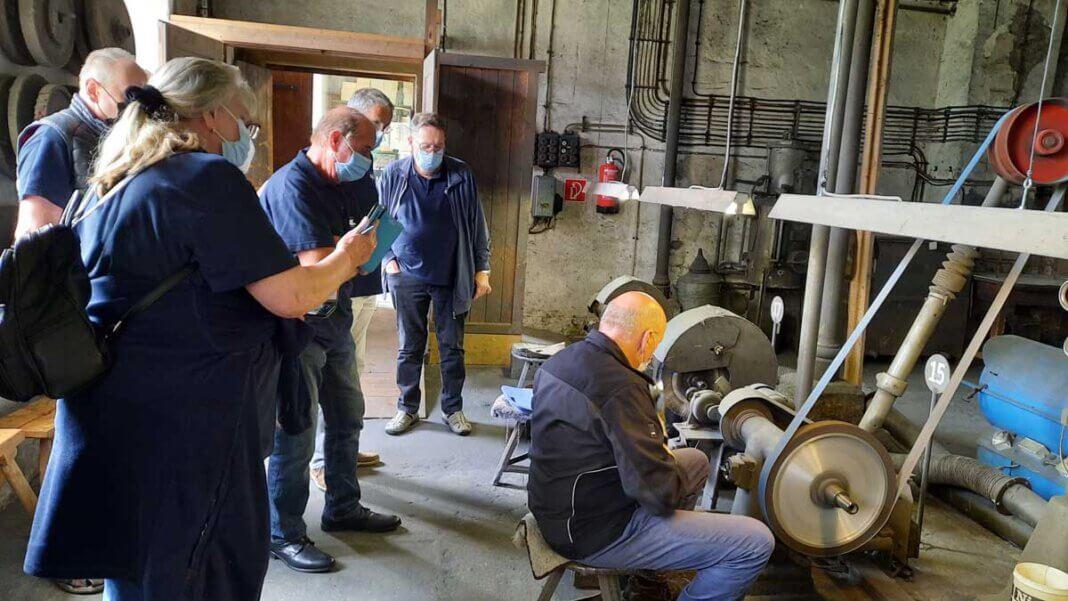 Während der Klausurtagung machte der VdK-Vorstand einen Ausflug in das Besteckmuseum Fleckenfeld. Foto: Uwe Wittenberg