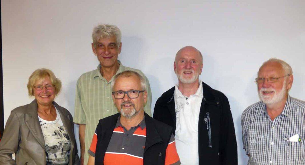 Der Vorstand des Kreisverbands Südmünsterland im Verband Wohneigentum um den Vorsitzenden Michael Wende (2. von rechts). Foto: Ulrich Wiechert