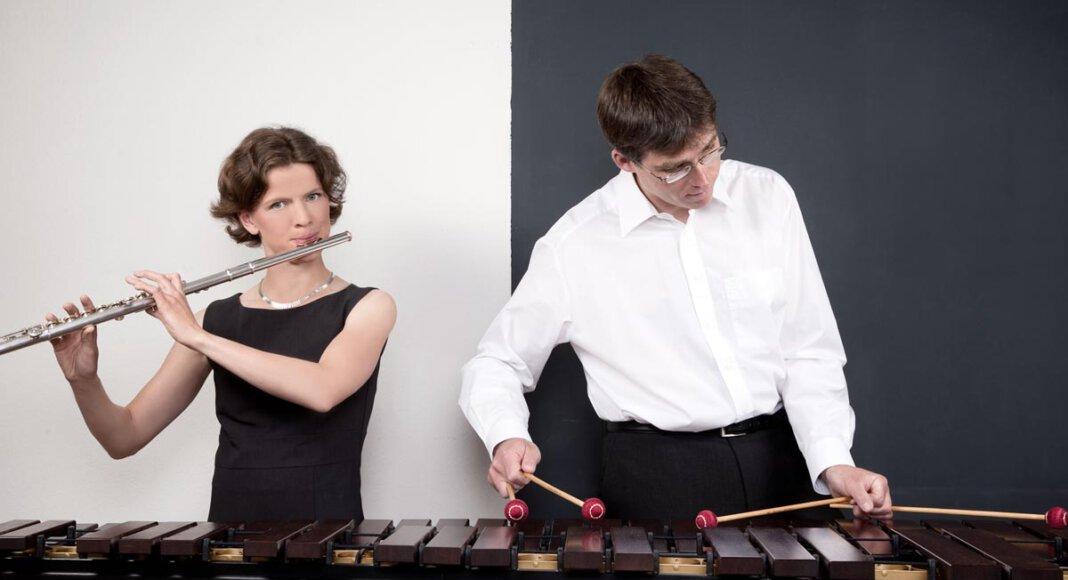 Almut Unger und Thomas Laukel bilden seit mehr als 20 Jahren ein Kammermusikduo, das in seiner Besetzung Seltenheitswert besitzt. Foto: Duo Mélange