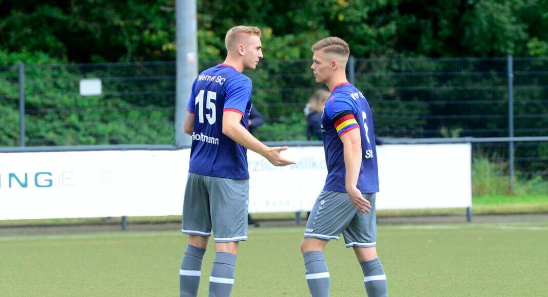 Nichts zu holen gab es für Nico Holtmann und Marvin Stöver beim Auswärtsspiel des Werner SC in Altenberge. Archivfoto: MSW