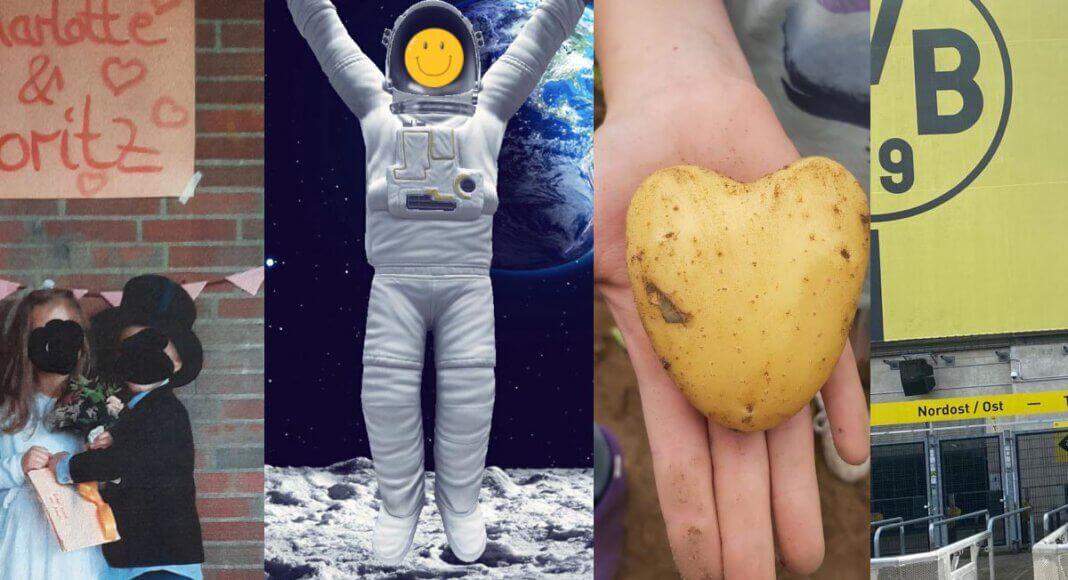 Aus den Wettbewerbsbeiträgen ist eine Abenteuer-Collage entstanden. Foto: Jugendhilfe